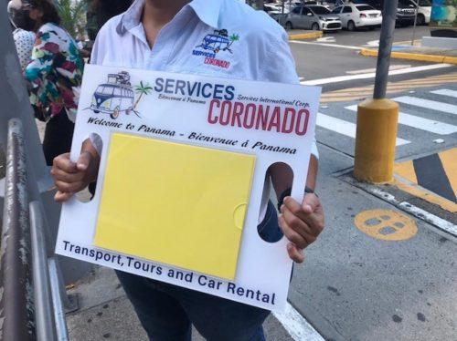 Services Coronado Uniform and Welcome Sign